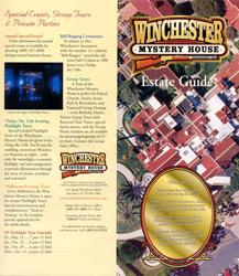 ウィンチェスターミステリーハウス パンフレット