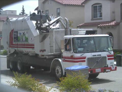 家庭ゴミ専用清掃車